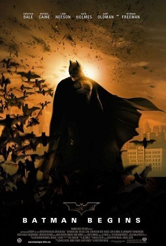 Batman Begins The Movie - Poster
