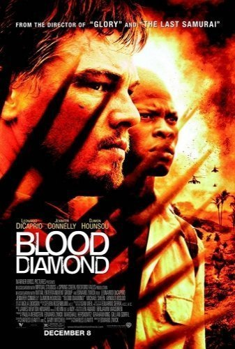 Blood Diamond movie poster