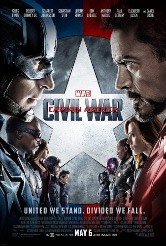 Captain America- Civil War The Movie - Poster
