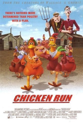 Chicken Run The Movie - Poster