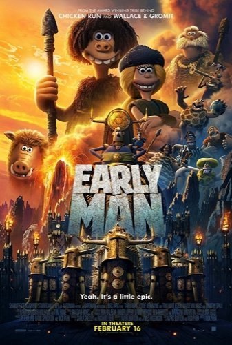 Early Man the movie poster
