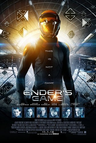 Enders Game the movie poster