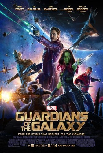 Guardians of the Galaxy The Movie - Poster
