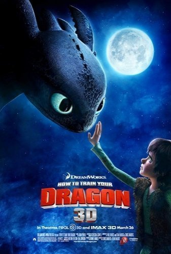 How To Train Your Dragon The Movie - Poster