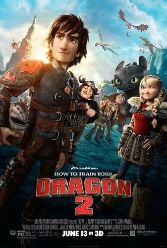 How to Train Your Dragon 2 The Movie - Poster