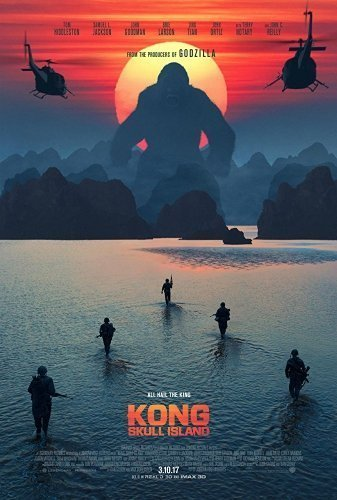 Kong- Skull Island The Movie - Poster