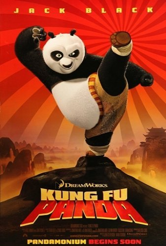 Kung Fu Panda The Movie - Poster