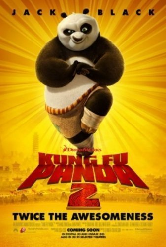 Kung Fu Panda 2 The Movie - Poster