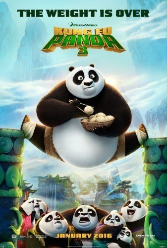 Kung Fu Panda 3 The Movie - Poster