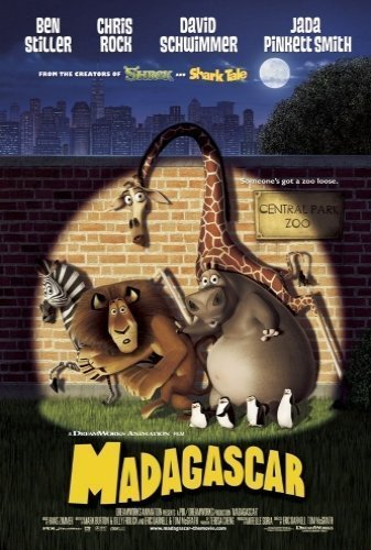 Madagascar The Movie - Poster