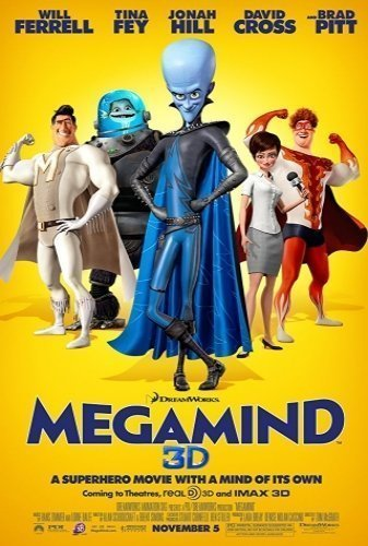 Megamind The Movie - Poster