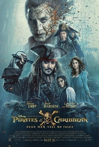 Pirates of the Caribbean- Dead Men Tell No Tales poster