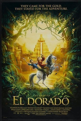 Road to El Dorado movie poster