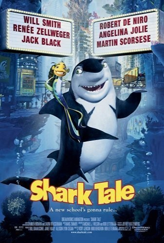 sharktale the movie poster