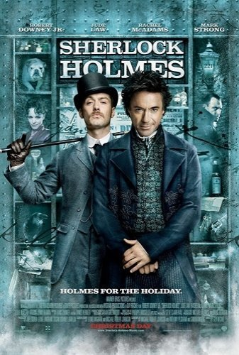 Sherlock Holmes the movie poster