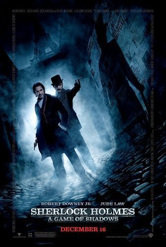 Sherlock Holmes 2 the movie poster