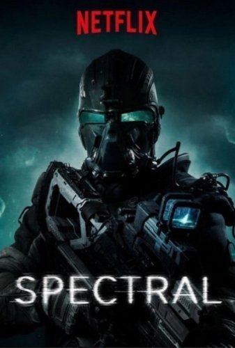 spectral the movie poster