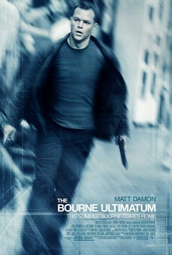 The Bourne Ultimatum the movie poster