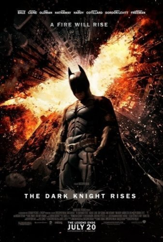 he Dark Knight Rises The Movie - Poster