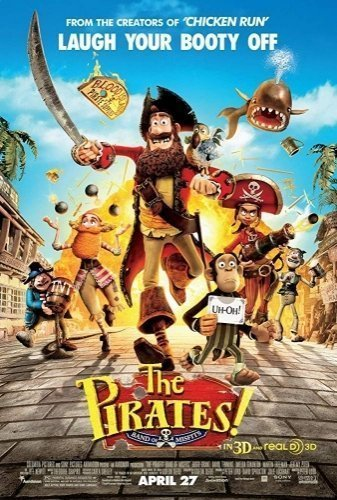 The Pirates! The Movie - Poster