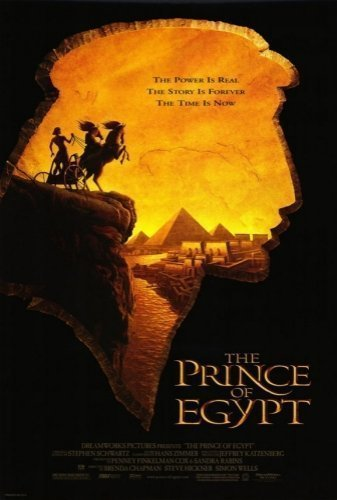 The Prince Of Egypt The Movie - Poster