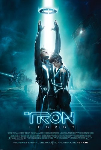 Tron- Legacy The Movie Poster