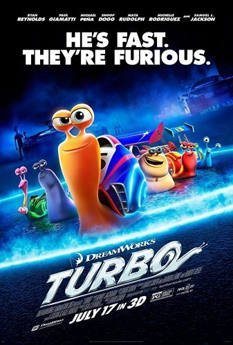 Turbo The Movie Poster