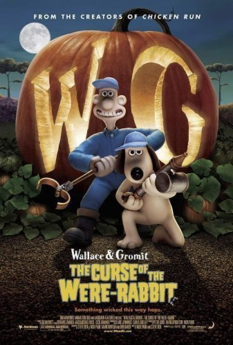 Wallace & Gromit- Curse of the Were-Rabbit The Movie Poster