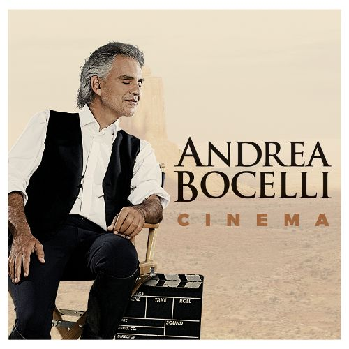 andrea bocelli cinema album cover