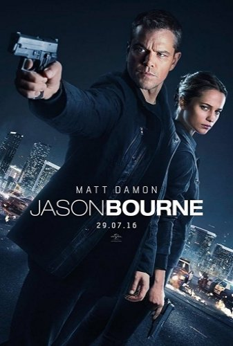 jason bourne The Movie - Poster