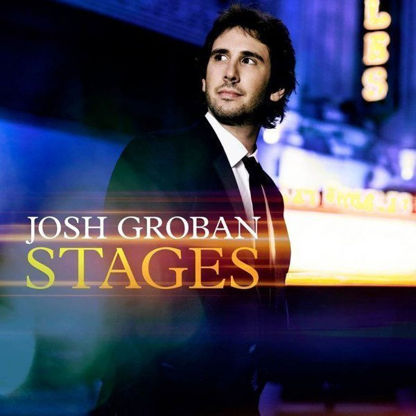 josh groban - stages album cover