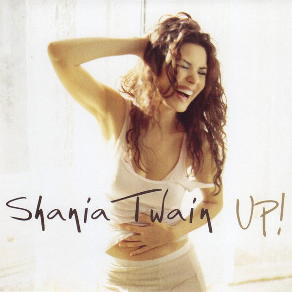shania twain up! album cover