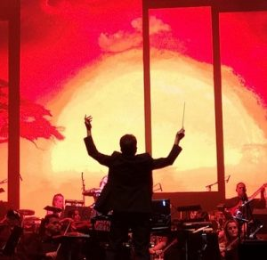 gavin greenaway conducting WoHZ live