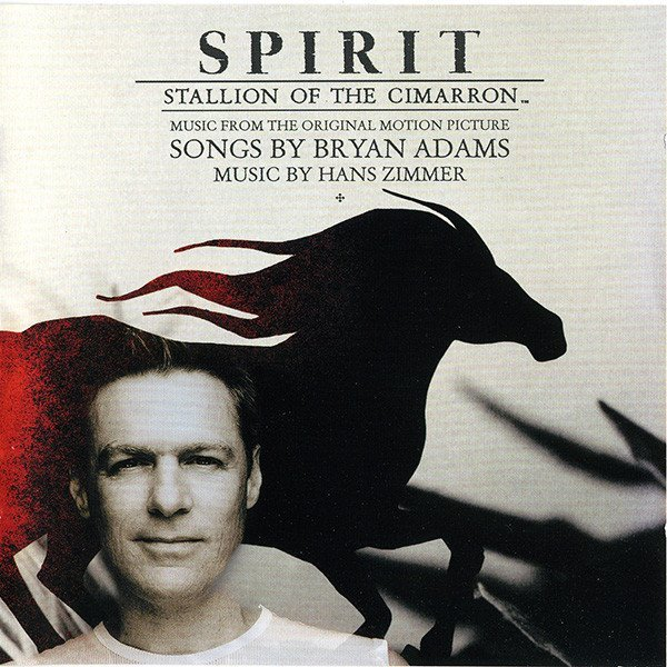spirit stallion of the cimarron album cover