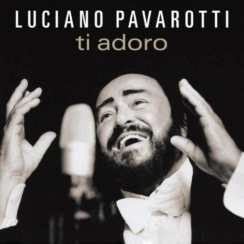 luciano pavarotti ti adoro album cover