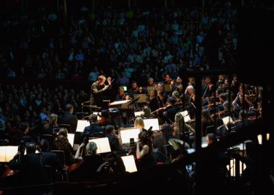gavin greenaway conducts at royal albert hall