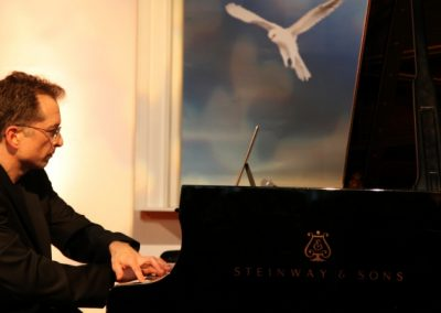 gavin greenaway at grand piano