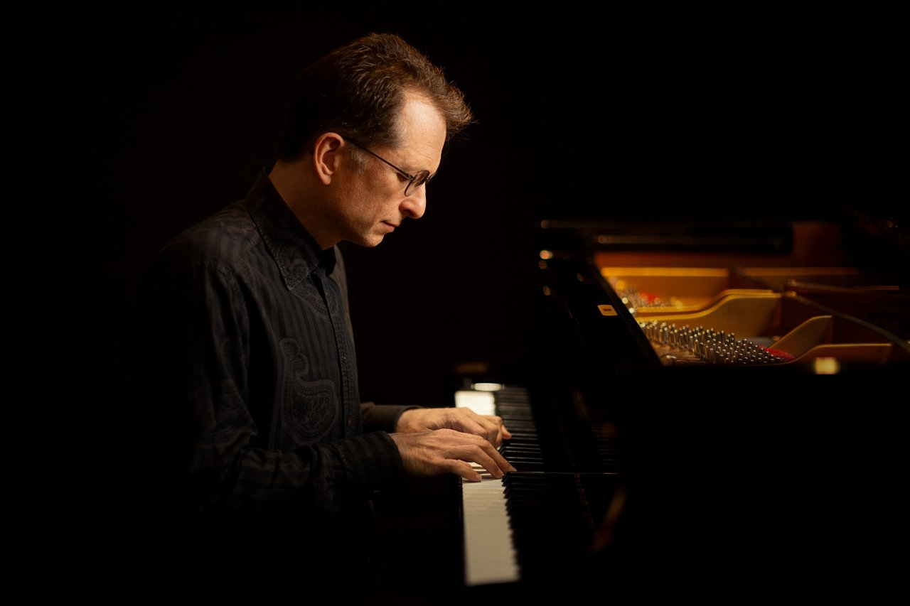 gavingreenaway at piano